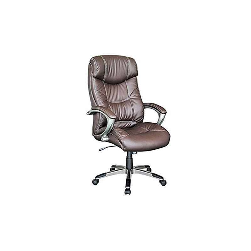 R B Furniture Angel-17 Brown Office Chair