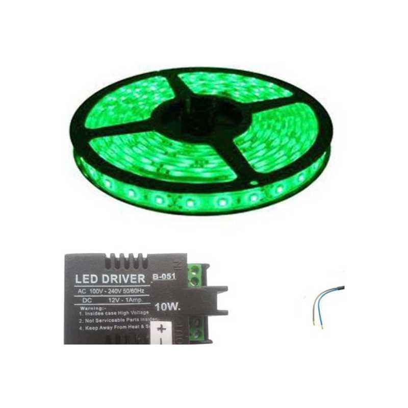 VRCT 3W Green Decorative Wall LED Strip Light with Adaptor, DL-586