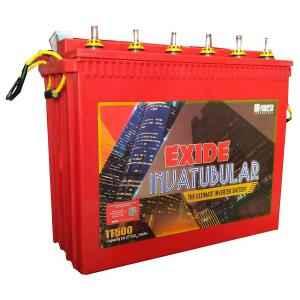 Exide 150Ah 12V Invatubular Battery, IT500