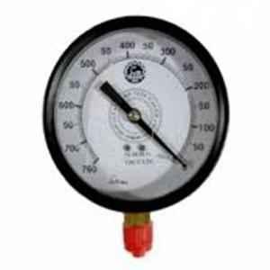 Bellstone 0-4000psi Mild Steel Black Pressure Gauge, 5214899