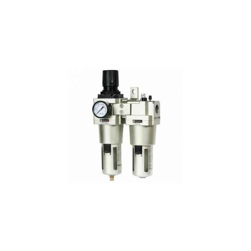 Akari 1/2 Inch AC Series FRL with Gauge & Metal Guard, AC4010-04