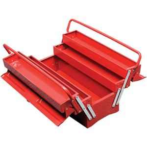 Vmax 5 Compartment Red Cantilever Tool Box
