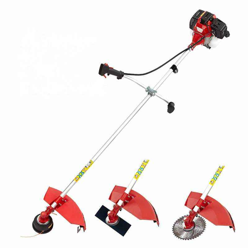 Neptune 0.95KW 4 Stroke Red 3-in-1 Brush Cutter with 3 Blades, BC-360