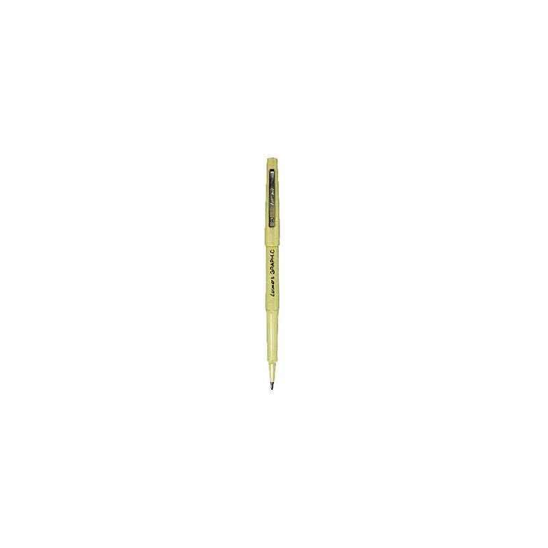 Luxor 0.8mm Tip 946 Graphic 05 Black Ball Pen