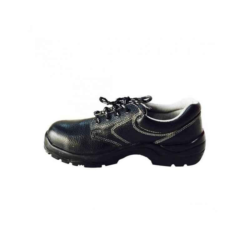 Bata Industrials RBS3-SA-5043 Bora Oxford Steel Toe Black Safety Shoes, Size: 10
