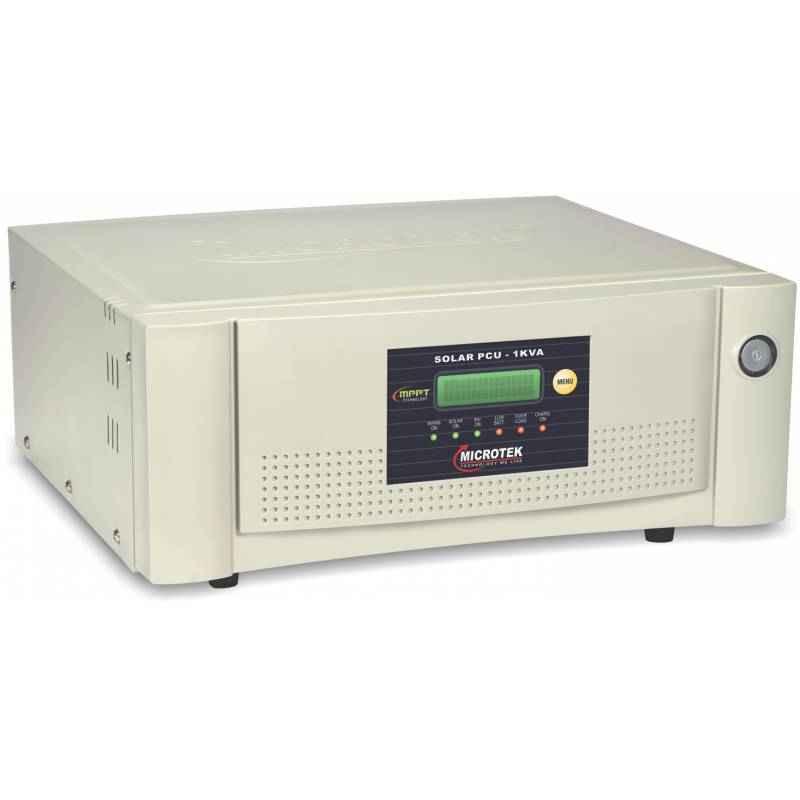 Microtek 1kVA 24V Solar PCU Inverter