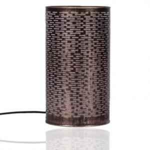 Height of Design Black Bricks Lamp, HODTL42