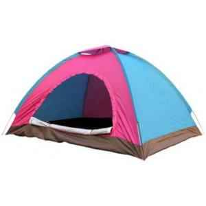 BRP Multi Colour Water Proof Adventure Camping & Hiking Tent, 4 Persons