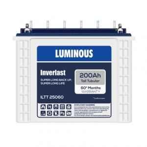 Luminous Inverlast 200Ah Tubular Battery, ILTT 25060