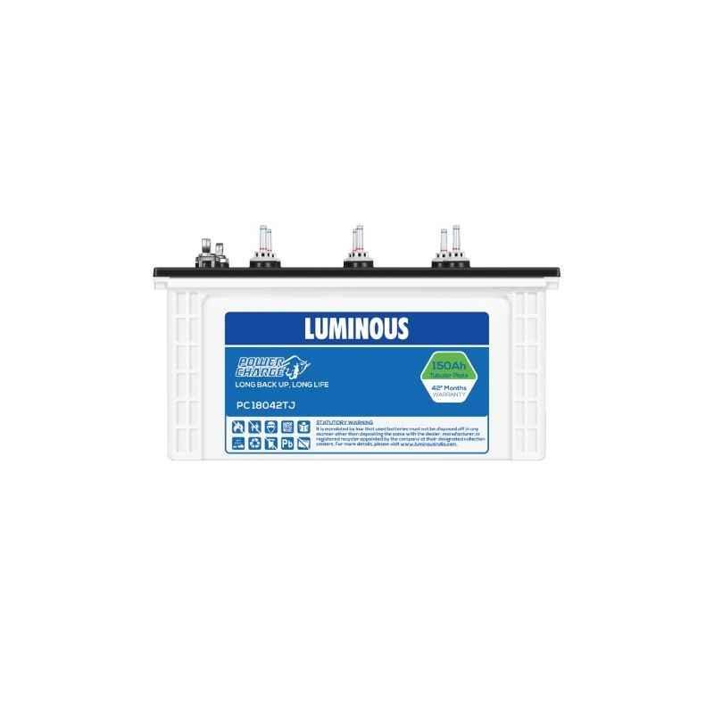 Luminous Power Charge 150Ah Tubular Battery, PC18042TJ