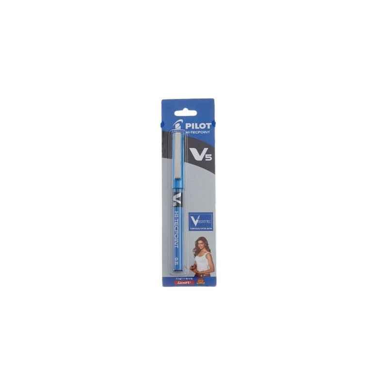 Pilot Hi-Tecpoint V5 Blue Pen, 9000019572 (Pack of 12)