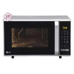LG 28 Litre Silver Convection Microwave Oven, MC2846SL