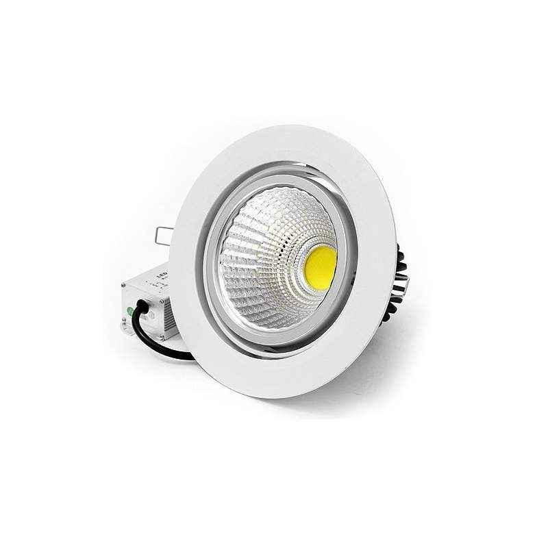 EGK 9W Cool Day White COB Ceiling LED Downlight