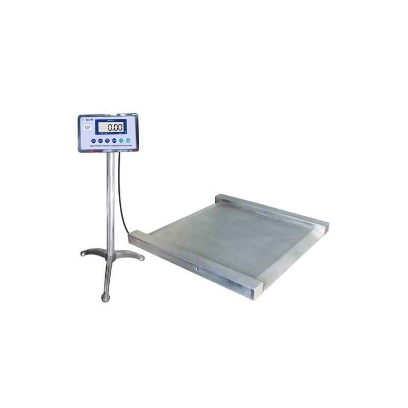 Aczet CTG 2 4L UMS Stainless Steel Ultra Low Profile Platform Scale, Capacity: 2 Ton