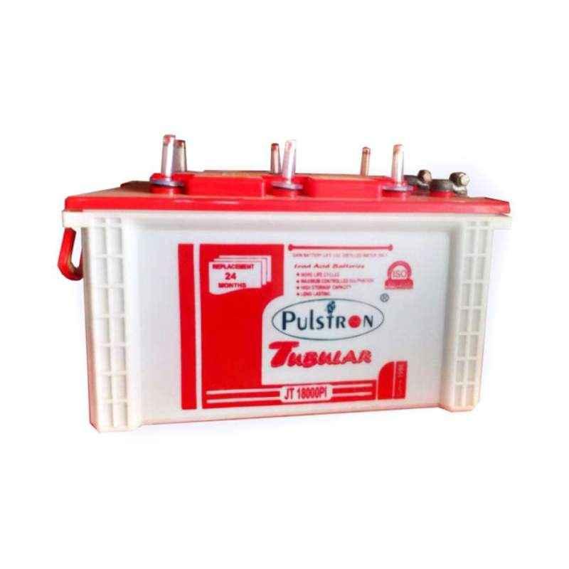 Pulstron 12V 180Ah Jumbo Dry Tubular Inverter Battery JT-18000PI
