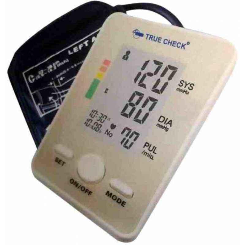 Dr. Diaz White Upper Arm Fully Automatic BP Monitor, AKS 1318