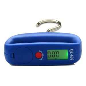 Weightrolux 50 Kg Blue Portable Hanging Digital Luggage Kitchen Weighing Scale, QZ-606