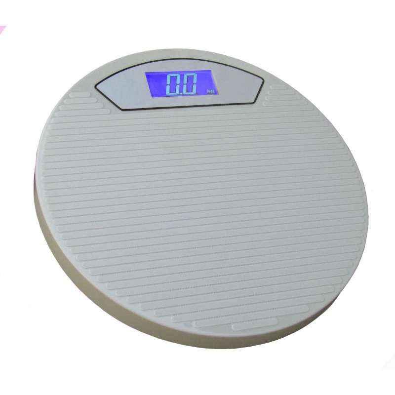 Virgo Digital Personal Weight Round Weighing Scale, v-round-grey