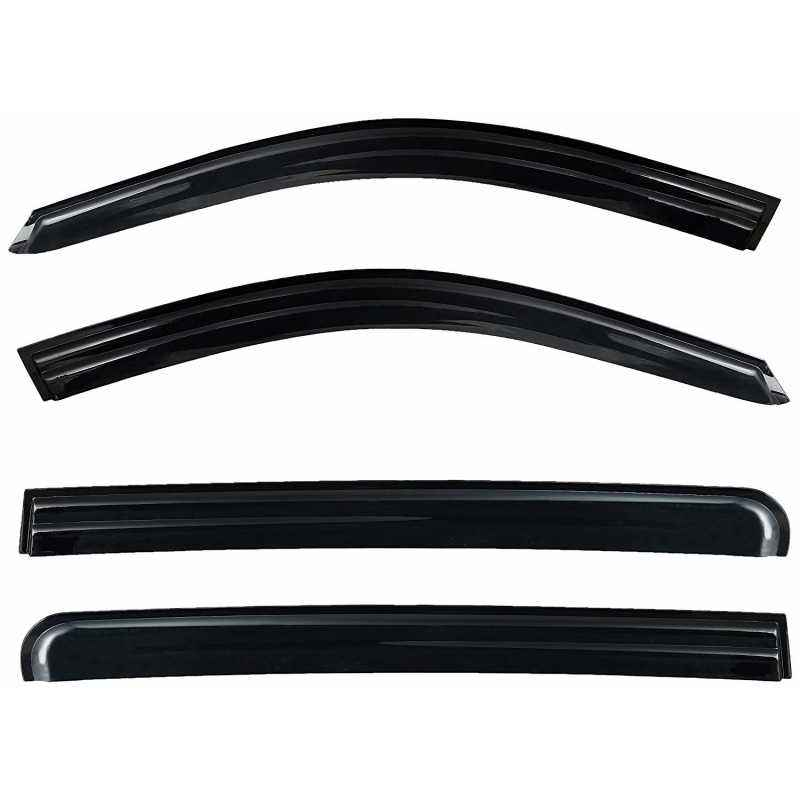 Prius Injection Moulded Door Visors Set for Toyota Innova Crysta