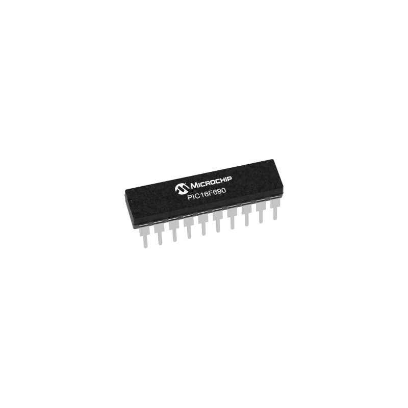 Microchip PIC 16F690 I/SS 20 Pin Microcontroller Integrated Circuit (Pack of 2)