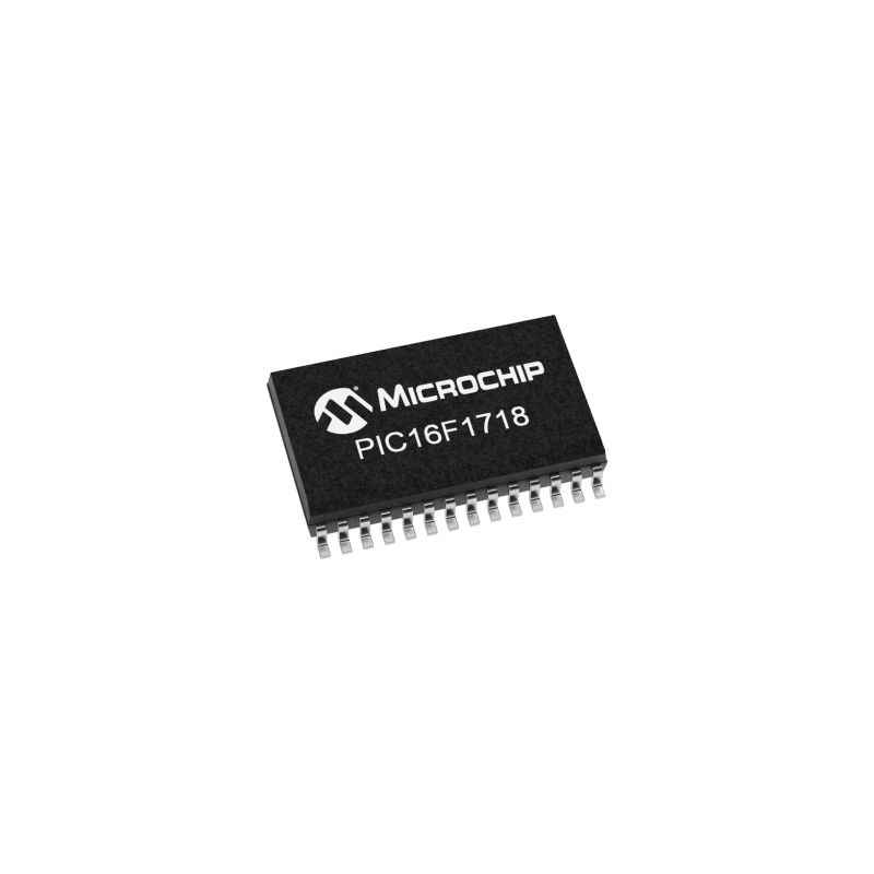 Microchip PIC 16F1718 I/SP 28 Pin Microcontroller Integrated Circuit