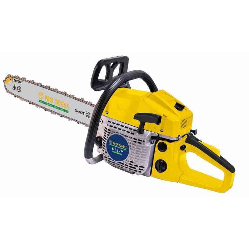 Pro Tools 22 Inch Petrol Chain Saw, 6122P