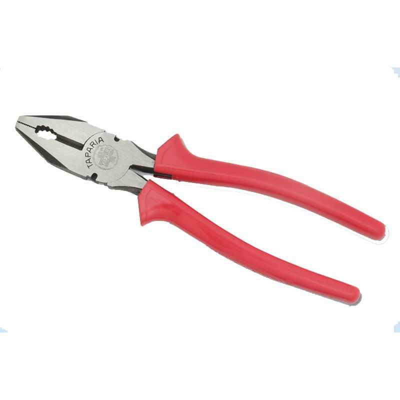 Taparia 210mm Combination Plier with Joint Cutter in Printed Bag Packing, 1621-8N (Pack of 10)
