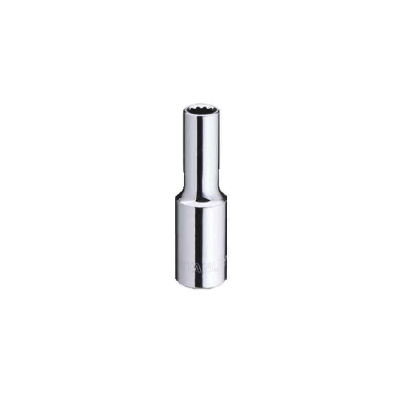 Stanley 1/4 Inch 6 PT Deep Socket, 12mm, STMT73206-8B-12
