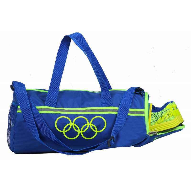 Polestar Premium Blue Polyester Duffel Bag