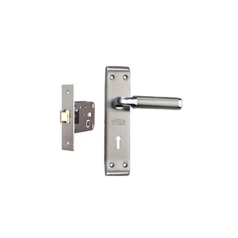 Plaza Orient SS Finish Handle with 200mm Baby Latch Keyless Lock