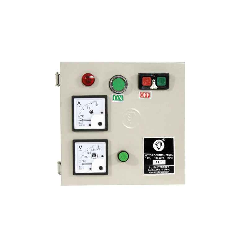 SJ MJ1 6-10A Single Phase Motor Control Panel, P50