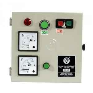 SJ MHD1 6-10A Single Phase Motor Control Panel, P55