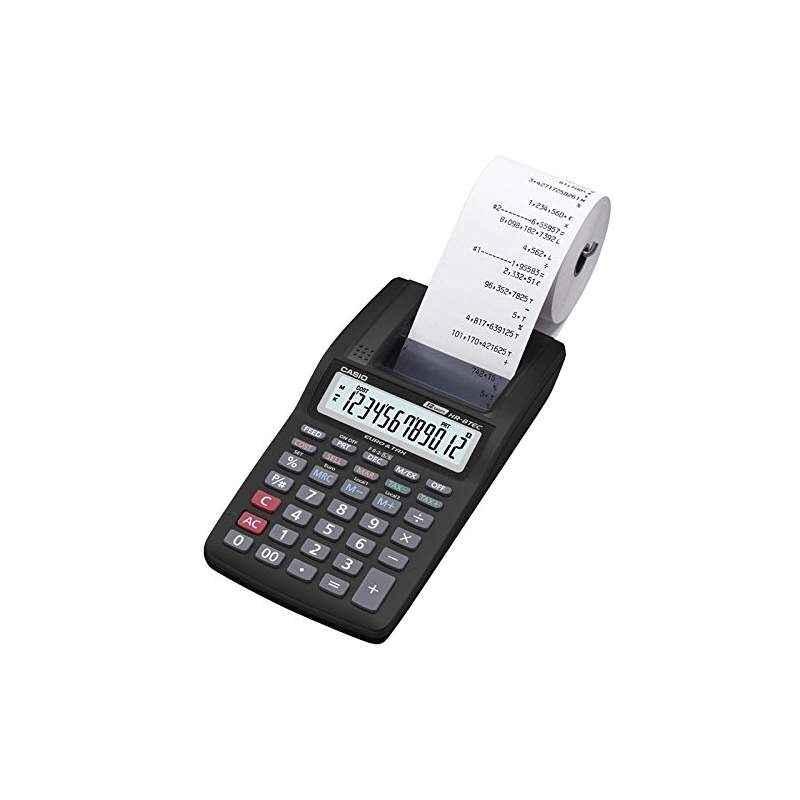 Casio HR-8TM Mini Portable Printing Calculator