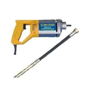Pro Tools 1200W Heavy Duty Concrete Vibrator, 3515 A