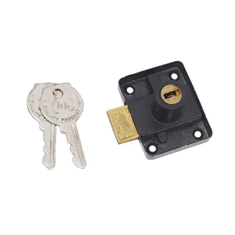 Smart Shophar 25mm Black Gold Furphy Multipurpose Lock, 54206-MPLF-BG25