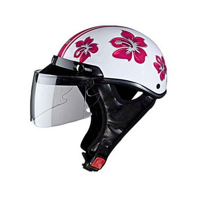 Studds Troy Happy N8 Open Face Ladies Helmet, Size: L