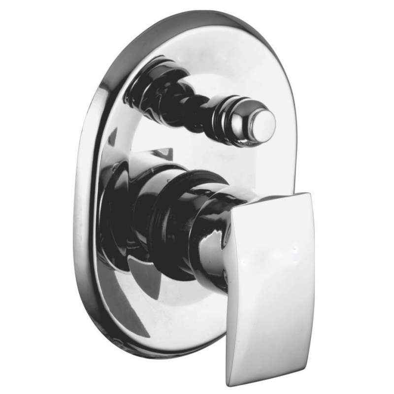 Kamal Single Lever Diverter - Arch (Complete) with Free Tap Cleaner, ACH-9464