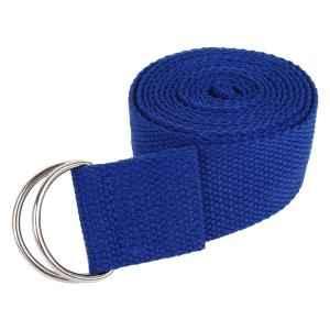 Strauss 6 Feet Nylon Blue Yoga Belt