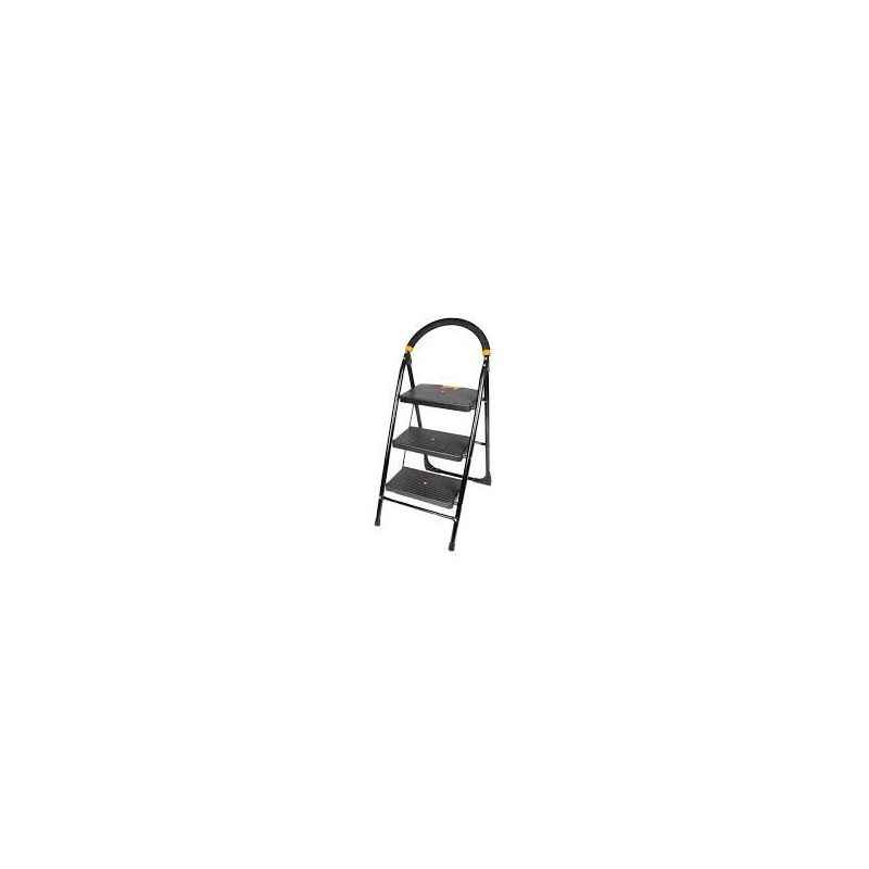 Atharvo Black 3 Step Multipurpose Ladder