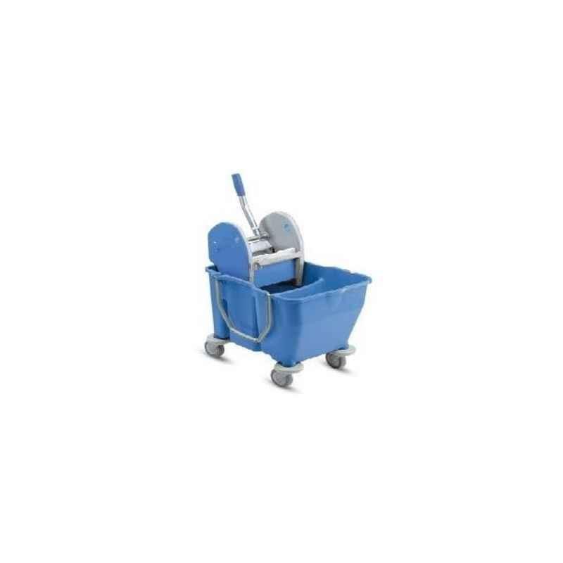Amsse DB1001 Double Bucket Wringer Trolley