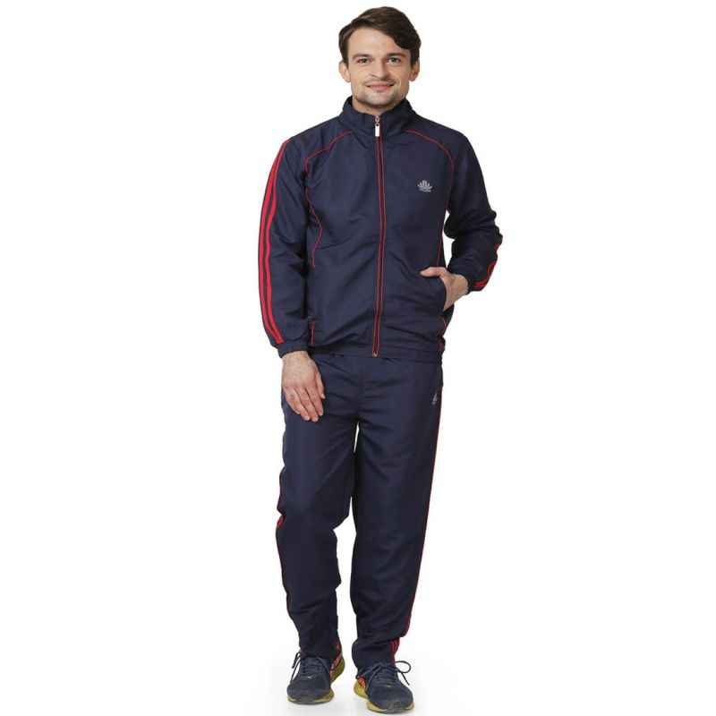 Abloom 130 Navy Blue & Red Tracksuit, Size: M