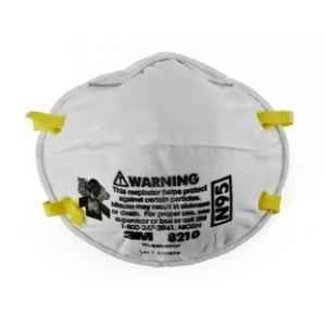 3M Particulate Respirator Mask 8210, N95 (Pack of 10)
