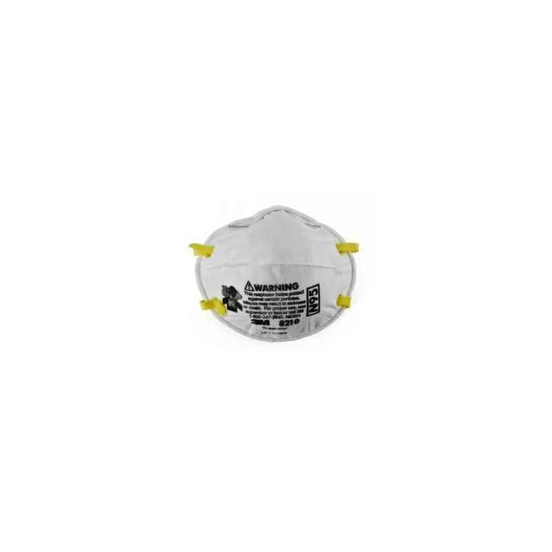 3M N95 Particulate Respirator Mask, 8210 (Pack of 10)