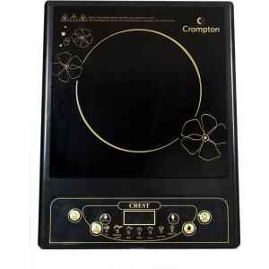 Crompton Greaves 1500W CREST Black Induction Cooktop