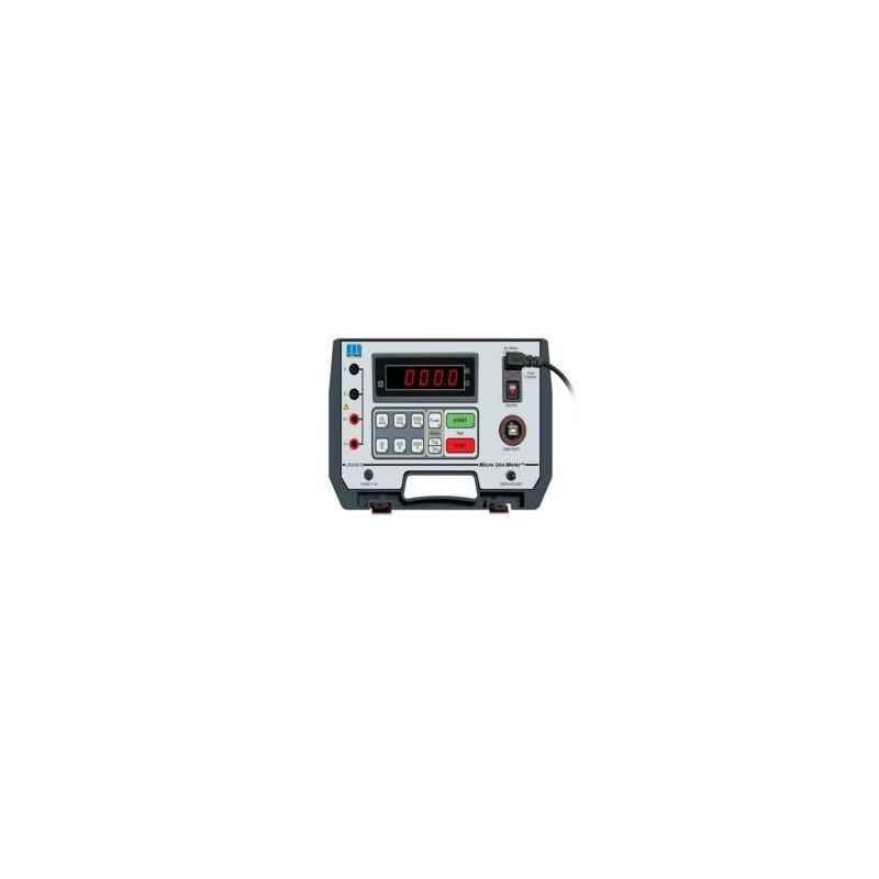 Motwane LR 2045-S Bench Top Digit Micro-Ohm Meter with Test Certificate
