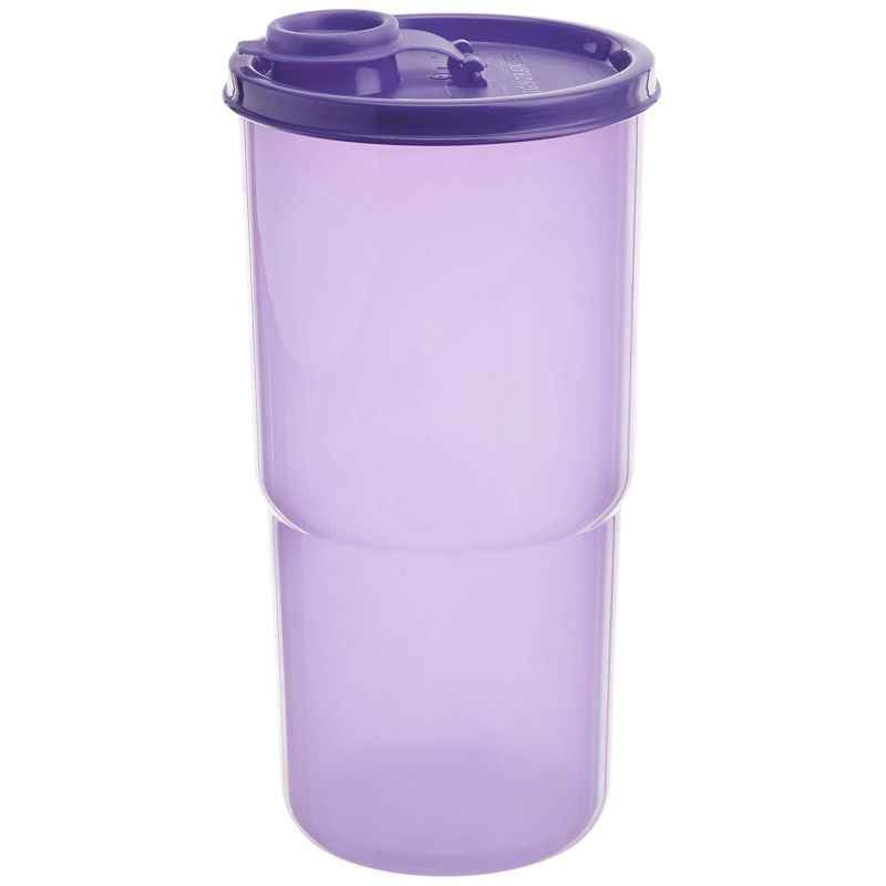 Signoraware Mauve 900 ml Executive Water Bottle with Bag, 401