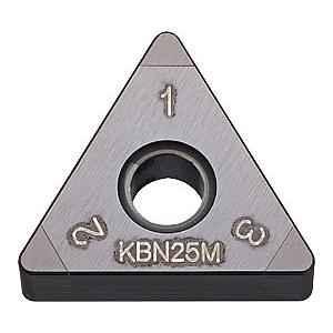Kyocera TNGA160404S01225ME CBN Turning Insert, Grade: KBN25M