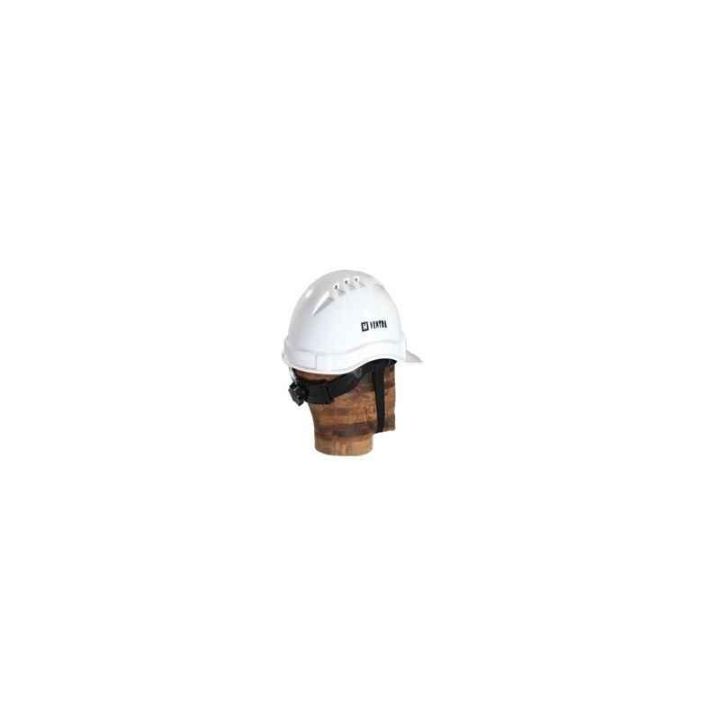 Ventra Adjustable Safety Helmet, LDR White (Pack of 10)