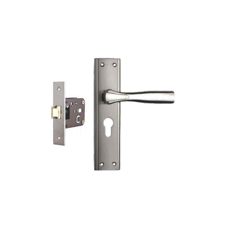 Plaza Spark Stainless Steel Finish Handle with 200mm Baby Latch Keyless Lock