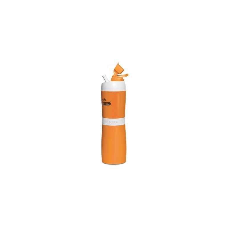 Milton Thermosteel Sleek 400ml Orange Water Bottle, M1117-MTSO-40